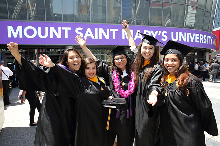 Mount Saint Mary's Class of 2017 celebrated graduation